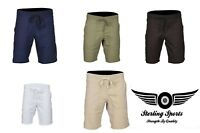 Mens Linen Shorts Casual Pants Summer Holiday Beach Bottoms S M L XL XXL Chinos