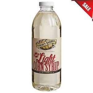 (12 CASE) 1 Qt. Light Corn Syrup Blend Baking Candy Bulk Pantry Food Supply