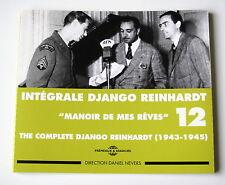 DJANGO REINHARDT - INTEGRALE N° 12 - (1943-1945) - 2 CD