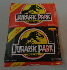 JURASSIC PARK 1993 ARGENTINA stickers envelope Spielberg unopened pack variant A