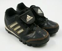 Adidas Boys Black Athletic Soccer Cleats Shoes Size 11K