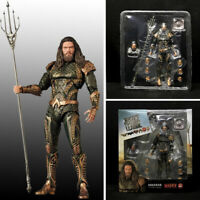 Mafex NO 061 Aquaman DC Comics Justice League PVC Action Figures Medicom KO Toy