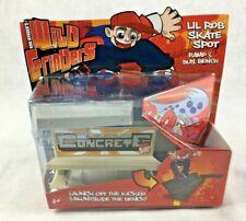 Mattel Rob Dyrdek's Wild Grinders Lil Rob Skate Spot Ramp & Bus Bench ~ NIB