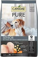 CANIDAE Pure Senior Recipe Limited Ingredient Grain Free Premium Dry Dog Food 12