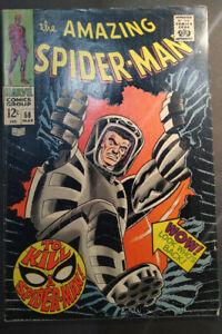Amazing Spider-Man #58 1968 Spider-Slayer Stan Lee John Romita Very Rare!!!