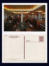 CANADA NOVA SCOTIA YARMOUTH BAR HARBOR MAINE BLUENOSE FERRY CAFETERIA CIRCA 1955