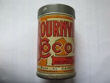 CADBURY BOURNVILLE COCOA SAMPLE SIZE TIN c1920s AUSTRALIAN MADE KITCHEN WARE