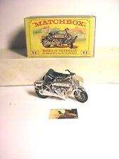 Macchinina Die-cast Lesney serie Matchbox SunBeam con Sidecar Y-8