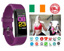 Fitness Tracker Smart Watch Fit Step Caolorie Bluetooth Fitbit Android iPhone
