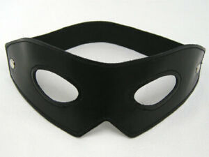 Brand New 100% Real Leather ZORRO Mask