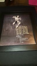Paula Abdul My Love Is For Real Rare Original Promo Poster Ad Framed!