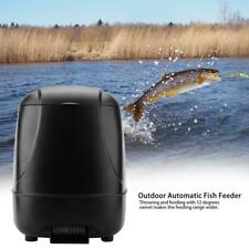 Futterautomat Teich 10L Koi Fisch Futter Spender Profi Fisch Feeder + Timer