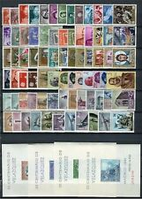 SPAIN 1961 Complete Yearset MNH Luxe (including 4 Painting Velazquez Minisheets)