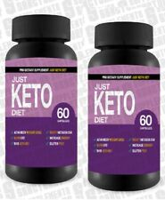 Just Keto Diet-Advanced Weight Loss-Burn Fat-Boost Metabolism x 2 months supply
