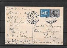 Pubblicitari 1925-n.1-cartolina da Chieti a Roma (ref 1038)