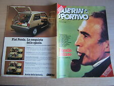 GUERIN SPORTIVO=N°17 (284) 1980 ANNO LXVIII=POSTER ARSENAL-JUVENTUS