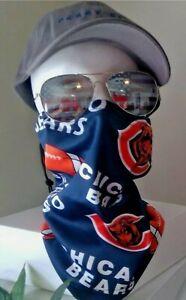 Chicago Bears Face Mask Gaiter Style  NEW