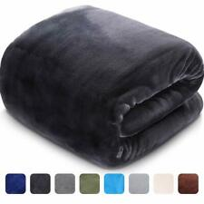 Leisure Town Soft Blanket Queen Size All Season Fleece Blankets Lightweight