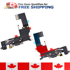 iPhone 5s Black Charging Port / Dock Audio Jack Flex Cable