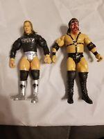 2 WWE  Elite Wrestling Figures WWF Wrestlers