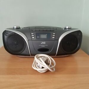 JVC BoomBox Portable CD/Tape/Radio Player With Power Cable (Spares Or Repair)