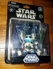 STAR WARS STAR TOURS DISNEY STITCH AS GENERAL GRIEVOUS unopened