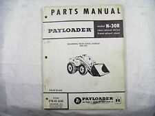 IH HOUGH H-30R  PAYLOADER  PARTS BOOK