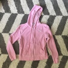 Lilly Pulitzer Pastel Pink Velour Zip Up Hoodie XS