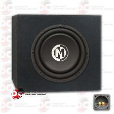 """Memphis 10"""" Dual 4-Ohm Car Audio Dvc Subwoofer 500 Watts Max Plus Subwoofer Box"""