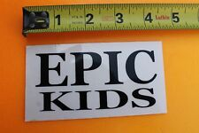 EPIC KIDS Youth Young Teens Groms Grommets Surfboards V5 Vintage Surfing STICKER
