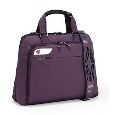 i-stay Ladies 15.6 – 16 inch Laptop Bag with Non-slip Shoulder Strap - Pur