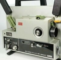 Cine projector 2 belt set drive & top belt for ELMO ST-1200D NEW durable B07/002