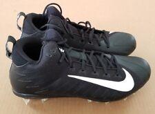 New Nike Mens Size 12.5 Alpha Menace Pro Mid Td Football Cleats Black 915414 010