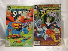 2 Superman Comic Books, # 504 Sep 93 & # 82 OCT 93