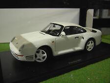 PORSCHE 959 blanc COUPE à l'échelle 1/18 AUTOart voiture miniature 78083