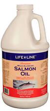 Life Line Wild Alaskan Salmon Oil f/pets, dogs & cats, FRESH, Premium 1/2 gallon