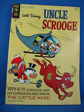 UNCLE SCROOGE 69 VF The Cattle King Barks 1967