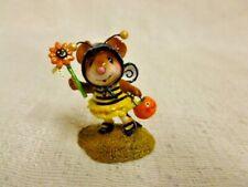 Wee Forest Folk Bee Fancy Halloween Edition M-414 Pumpkin Bumble Bee Costume