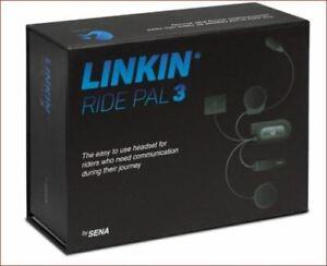 LS2 LINKIN RIDE PAL 3 ADVANCED VALIANT 2 FF399 90 BLUETOOTH SENA INTERCOM SYSTEM