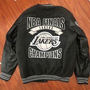 L.A Lakers Bomber Varsity Jacket Mens Medium NBA Finals