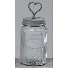 Vorratsglas / Vintage Vorratsdose Tee 24cm
