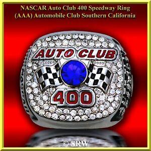 2015 NASCAR LIMITED Edition CA Speedway Auto Club 400 Ring SZ 11