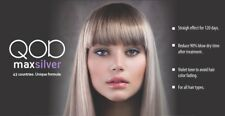 QOD MAX Silver Brazilian Keratin Blow Dry Smoothing Treatment Formaldehydfree