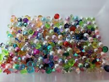 4mm Pearl 3-5mm Crystal 10pcs Mix for Origami Owl Floating Charm Lockets USA