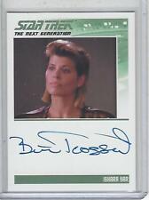 Star Trek InfleXions Beth Toussaint autograph (TNG Design)
