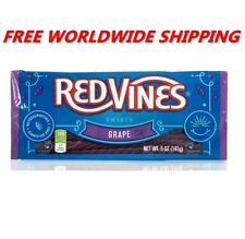 Red Vines Grape Licorice Twists 5 Oz FREE WORLDWIDE SHIPPING AMERICAN CANDY