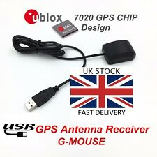GPS Receiver VK-162 2 Metre USB Cable  Ublox GPS Win 7/8/10 Linux UK Stock
