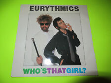 "EURYTHMICS - WHO'S THAT GIRL  7"" 45 UK PICTURE SLEEVE"
