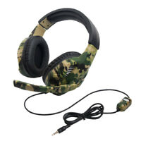 Gaming Headset Camouflage For Ps4 Pc Xbox One Gaming Headset Gaming Headset X4N7