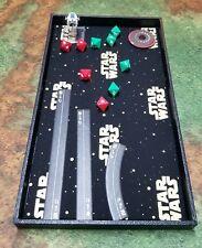 Star Wars Gold Logo Dice Tray, Gaming Tray